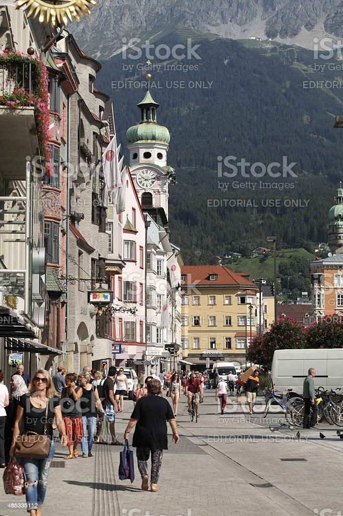 Innsbruck (Tyrol, Austria) stock photo