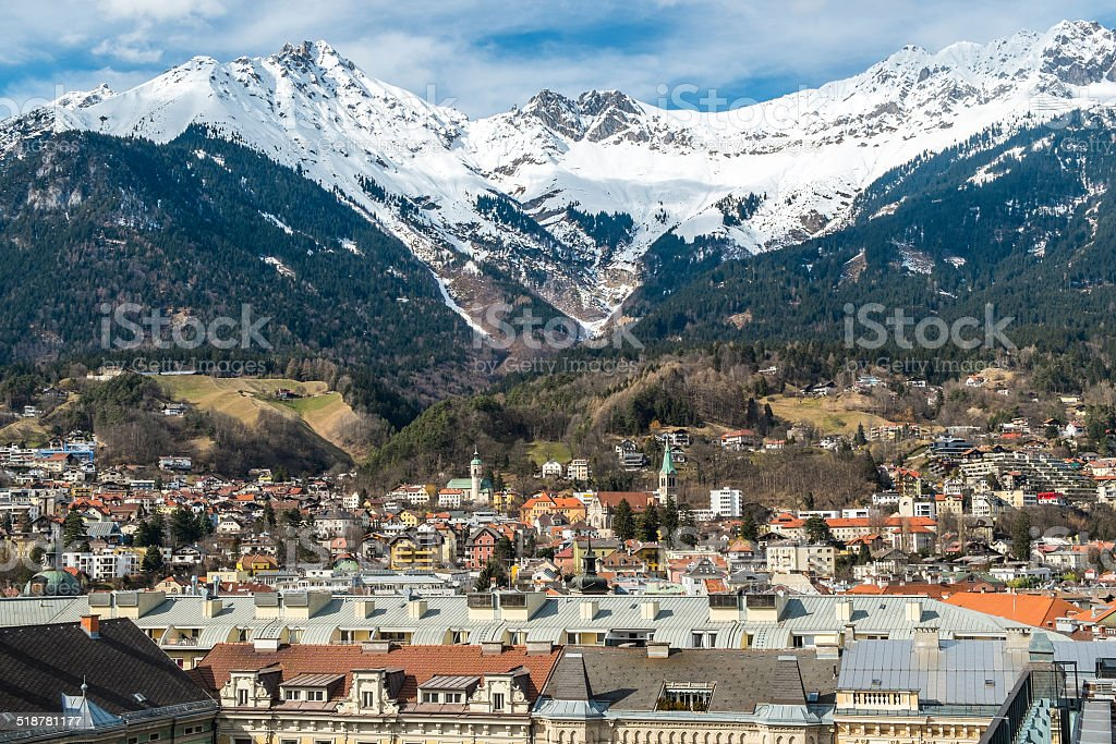Innsbruck, Tyrol, Austria royalty-free stock photo