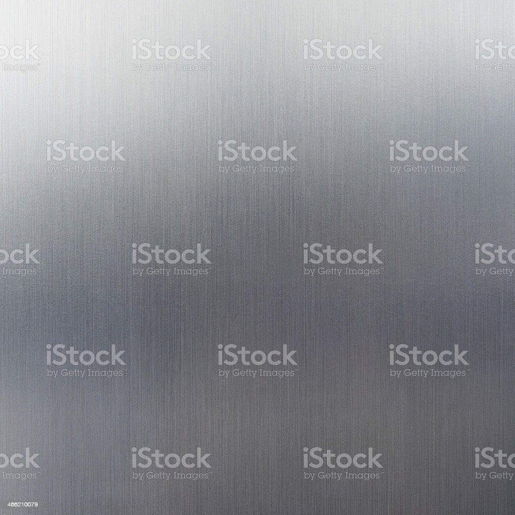 Inox background with reflections. Metal texture for fridge stock photo