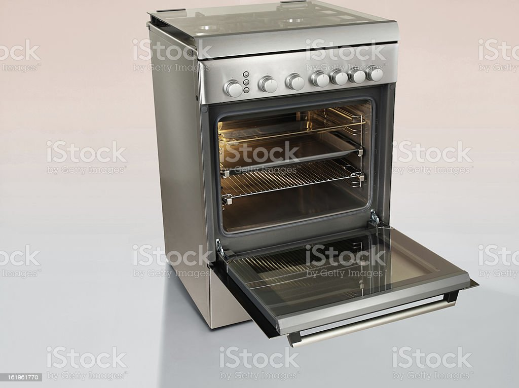 Inox Stove stock photo