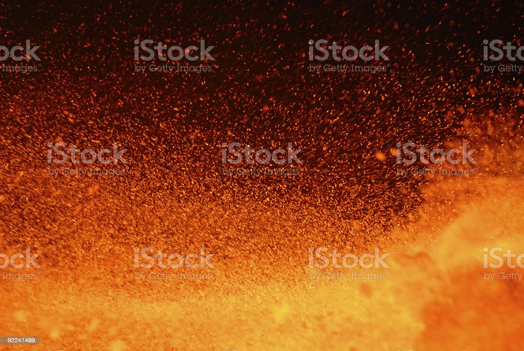 Input in a hell stock photo