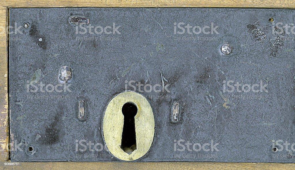 Insane Asylum Lock stock photo