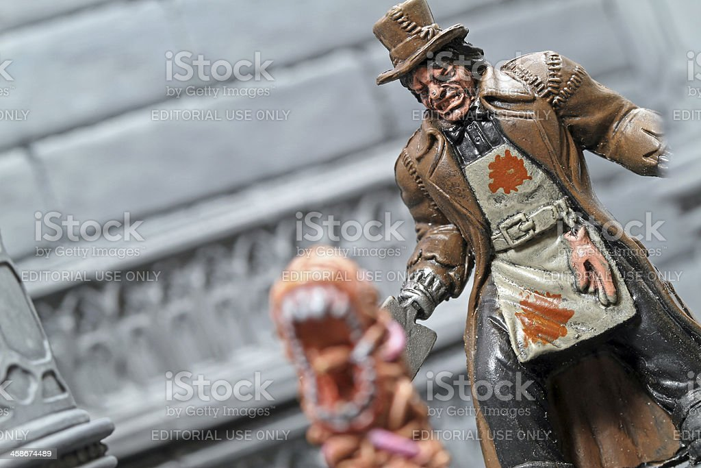 Insane Butcher royalty-free stock photo