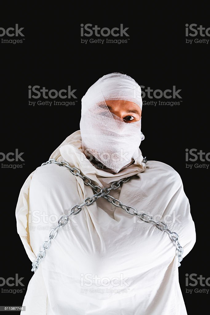 Insane patient stock photo