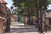 Inscription above the the main gate of the Auschwitz concentration camp