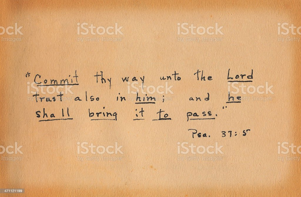 Inscription stock photo