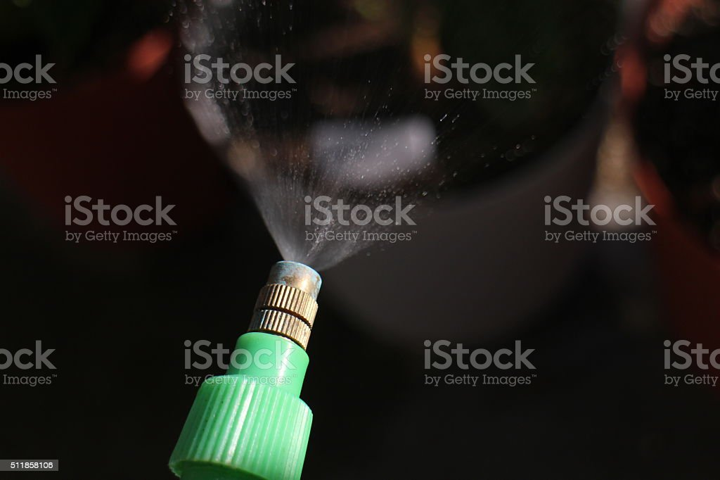 Insecticide Spray stock photo
