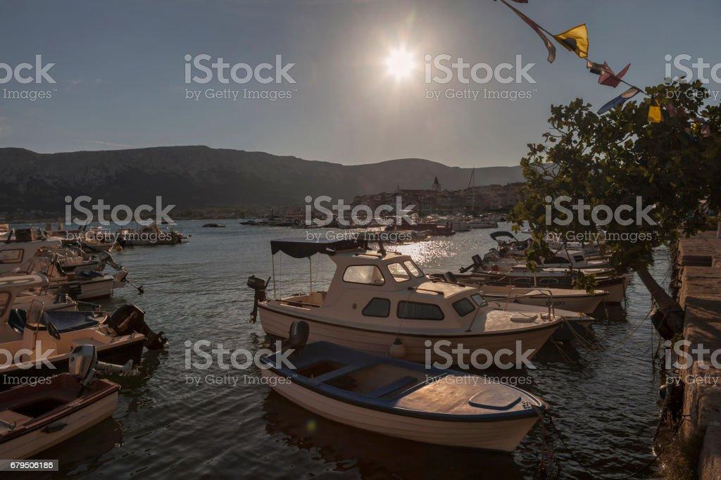 Insel Krk stock photo