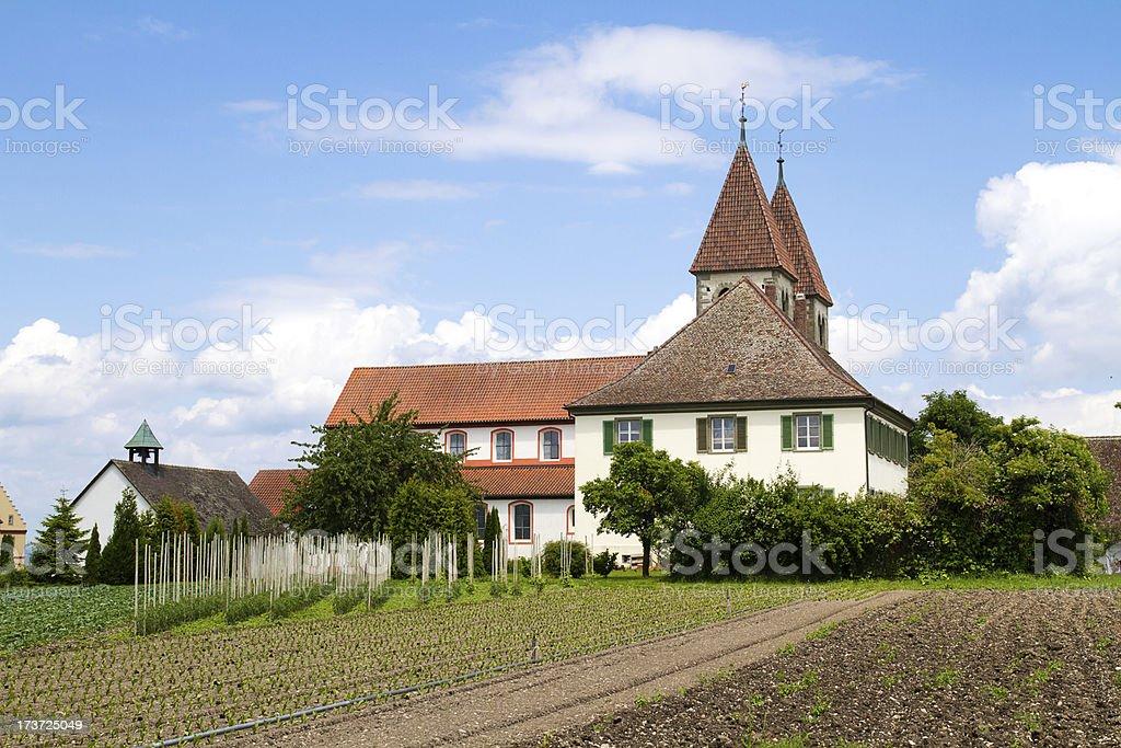 Insel Reichenau, Bodensee, Deutschland stock photo