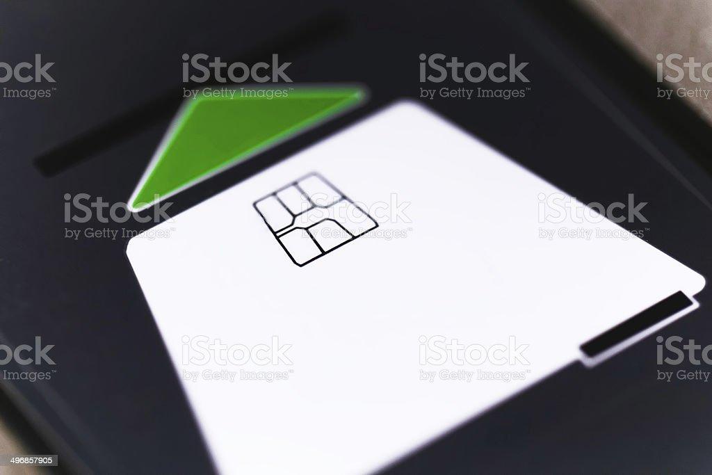 insert card stock photo