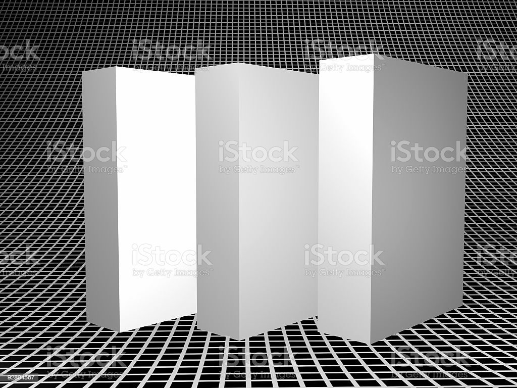 Insert Three Product Matrix royalty-free stock photo