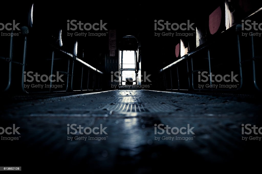 inside a plane stock photo