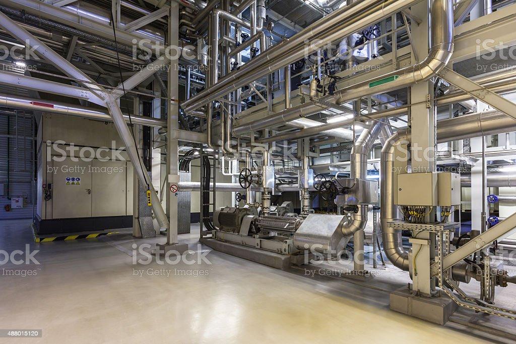 inside a power plant stock photo