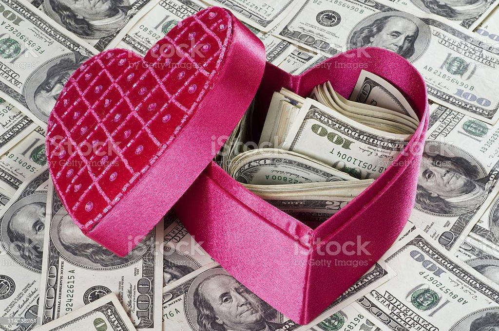 Inside a woman heart stock photo