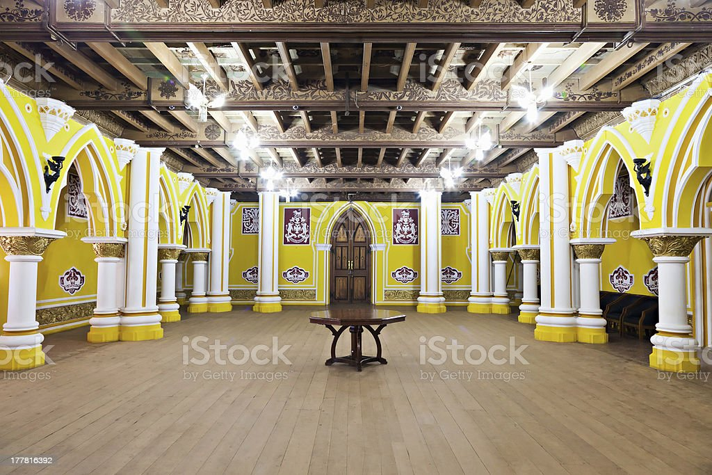 Inside Bangalore Palace stock photo