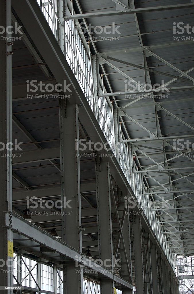 Inside Bulding Structure royalty-free stock photo