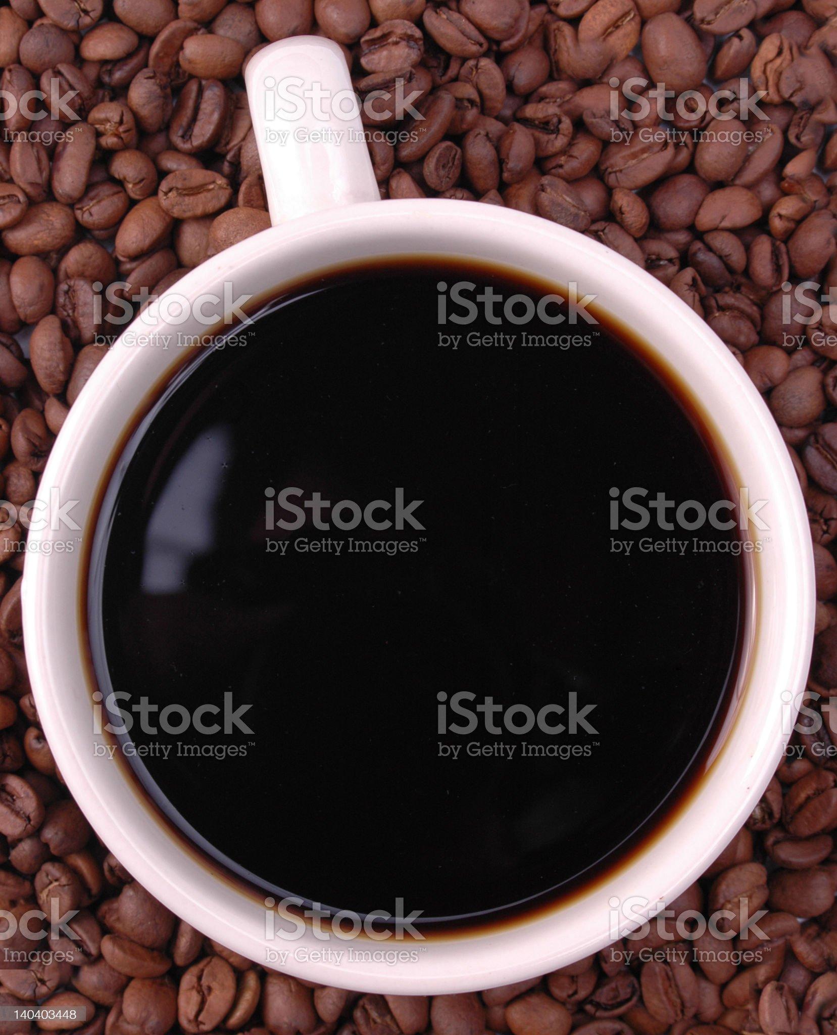 Inside Coffee royalty-free stock photo