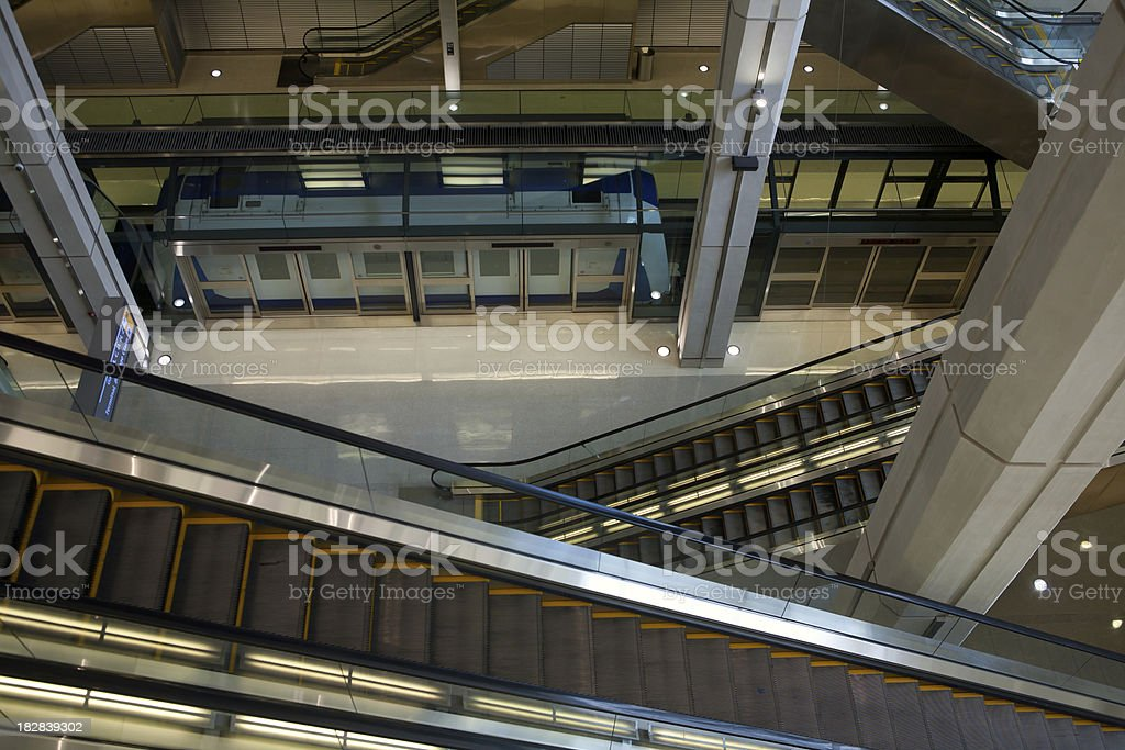 Inside Dulles stock photo