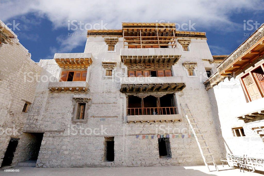 Inside Leh Palace stock photo