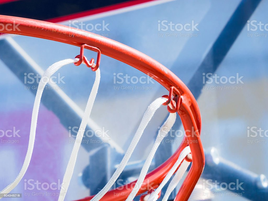 Inside of a basketball stock photo