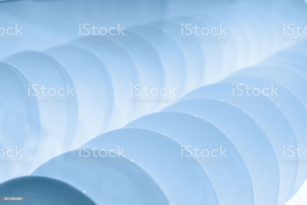 Inside of dishwasher stock photo
