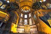 Inside of Hagia Sophia