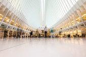 Inside of new World Trade Center in USA