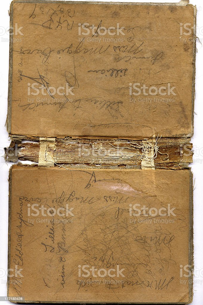 Inside of Old Primer royalty-free stock photo