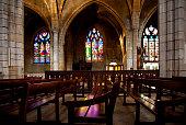 Inside of The Church of St. Bonaventure