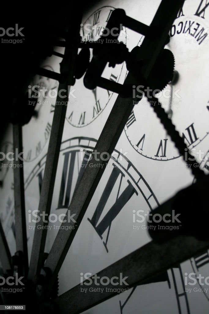 Inside of Time stock photo