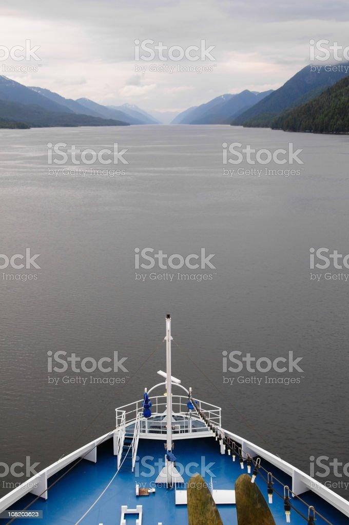 Inside Passage stock photo