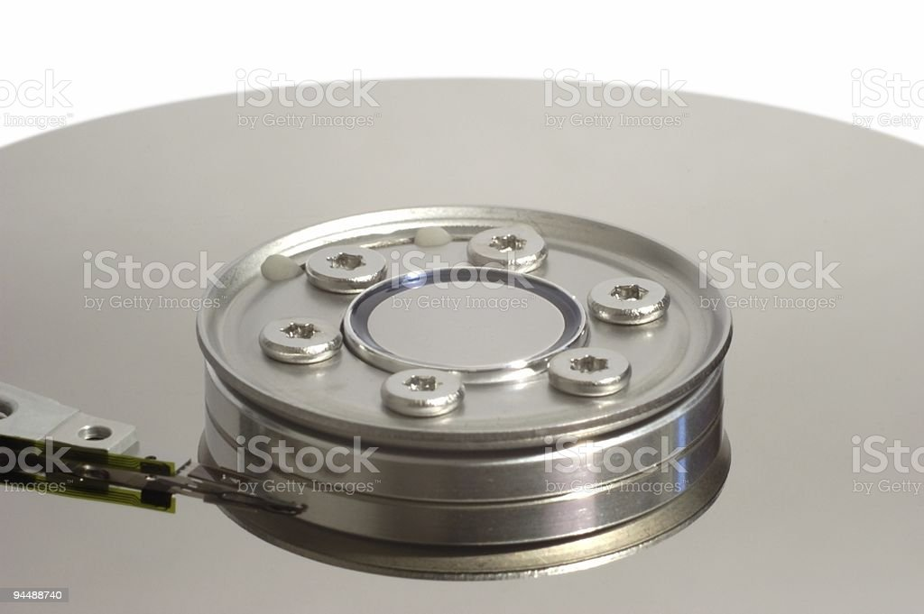HDD inside stock photo