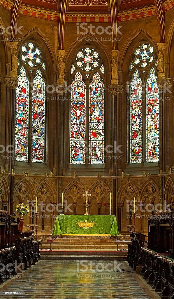 Inside religion stock photo