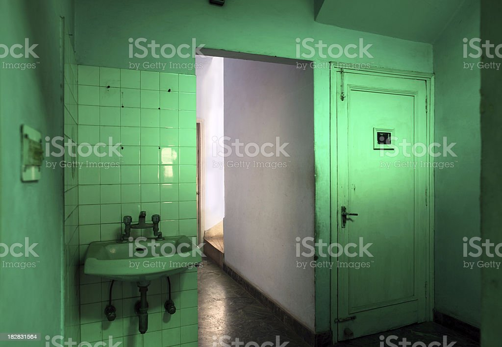 Inside suburban Indian home royalty-free stock photo