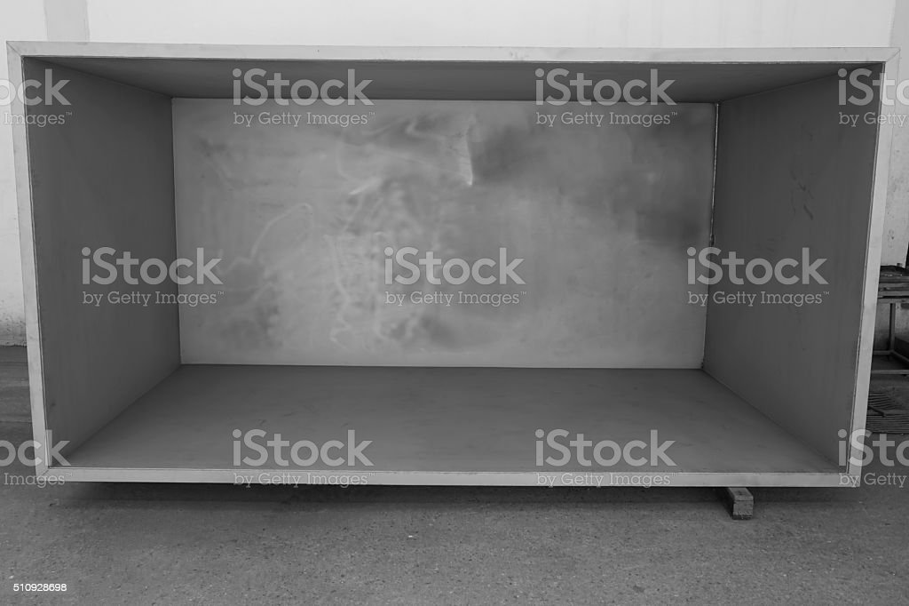 abstract of inside the box for background used