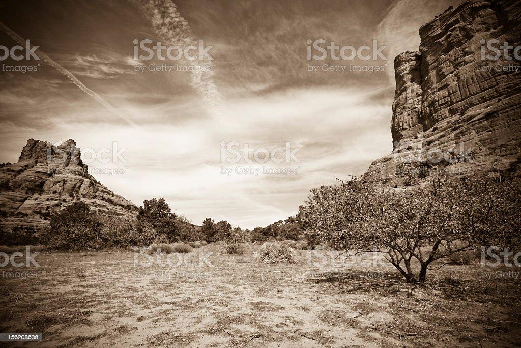 Wewnątrz canyon ściany zbiór zdjęć royalty-free