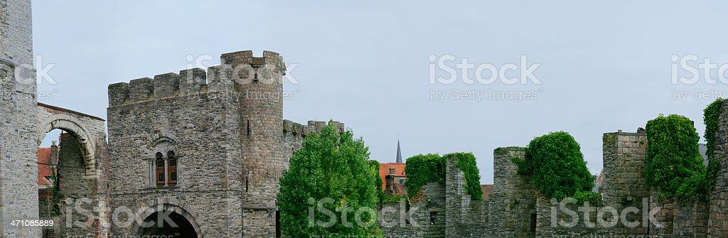 Inside the Castle (XL) stock photo