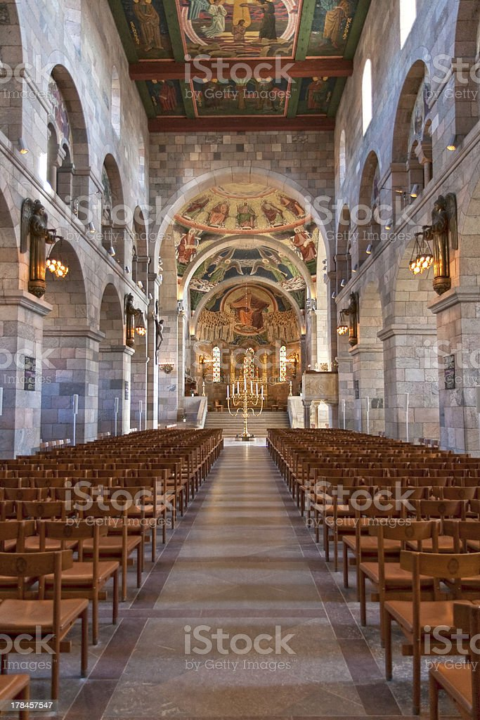 Inside the Cathedral royalty-free stock photo