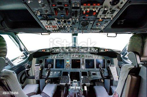 Allinterno della cabina di pilotaggio aereo boeing 737 for Foto della piccola cabina