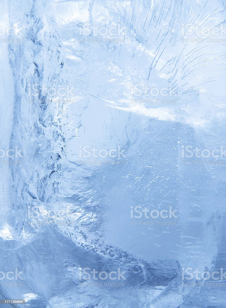 Inside the Ice royalty-free stock photo