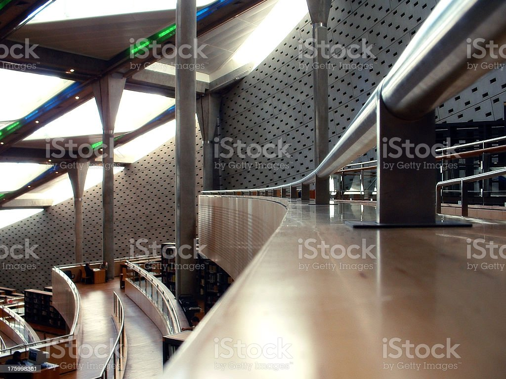 Inside the Library royalty-free stock photo