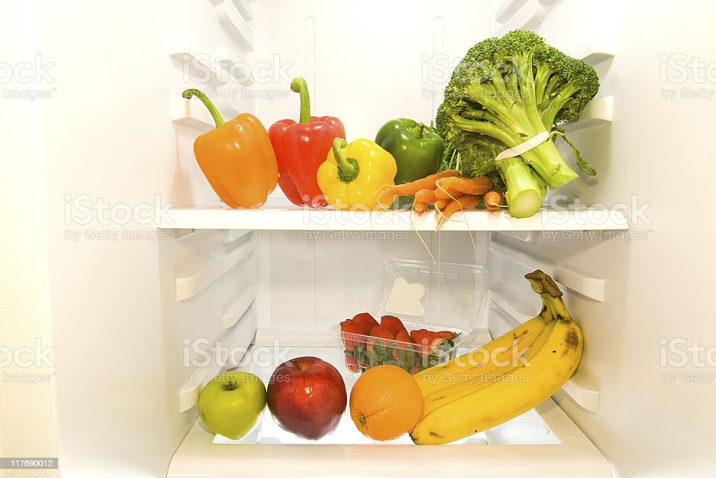 Inside the Refrigerator (series) royalty-free stock photo