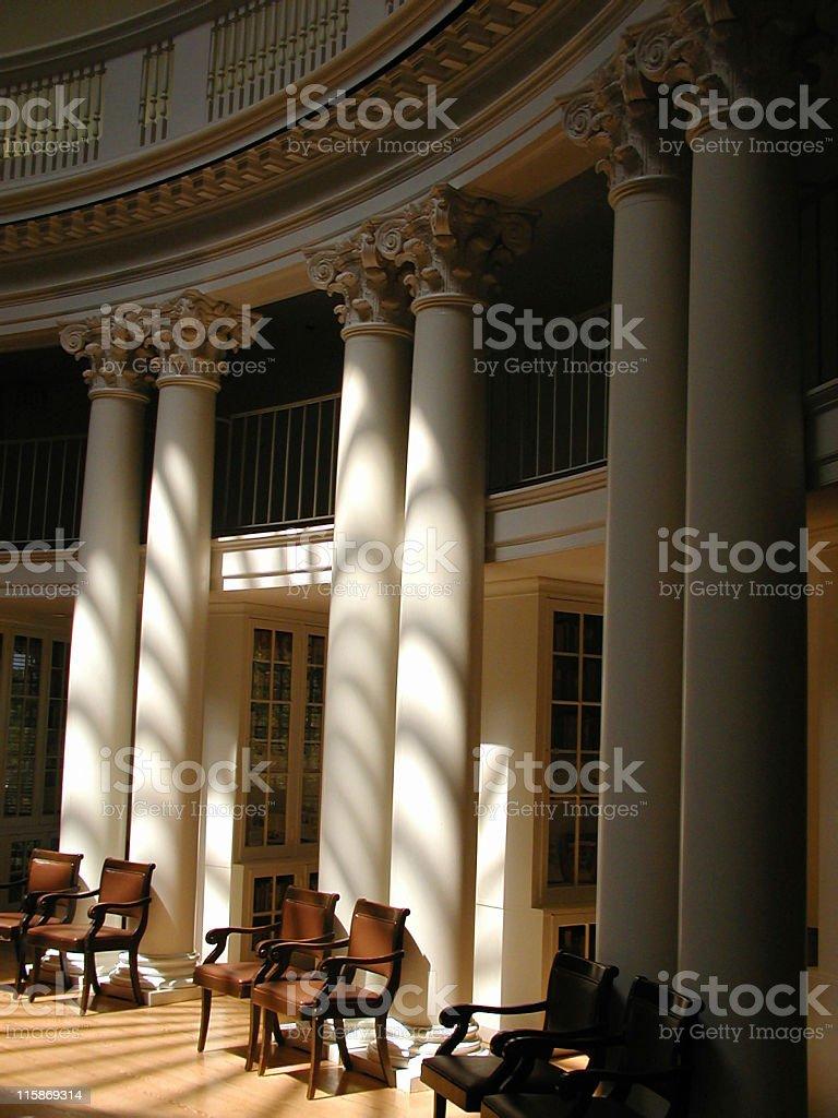 Inside the Rotunda stock photo