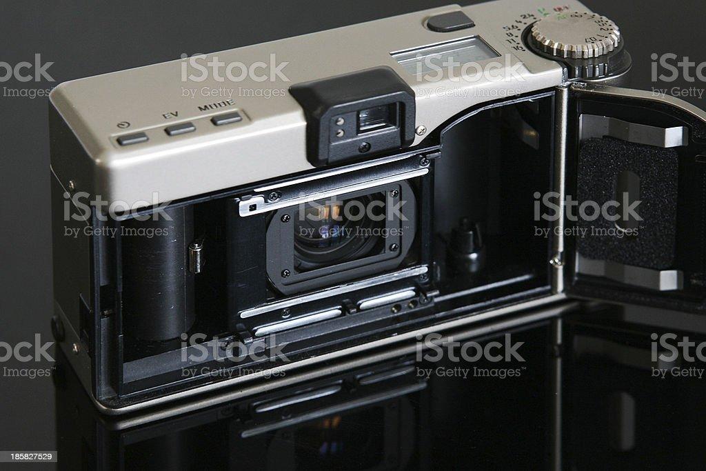 Inside the Titanium Camera royalty-free stock photo