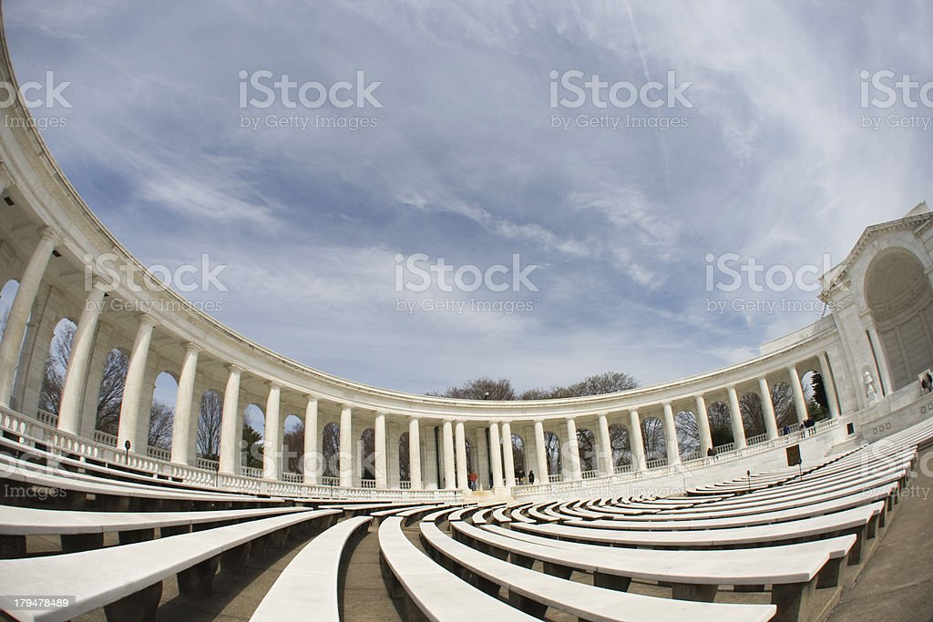 Inside view of the amphitheater i stock photo