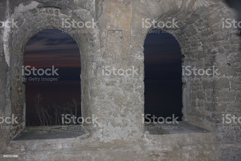 inside windows stock photo