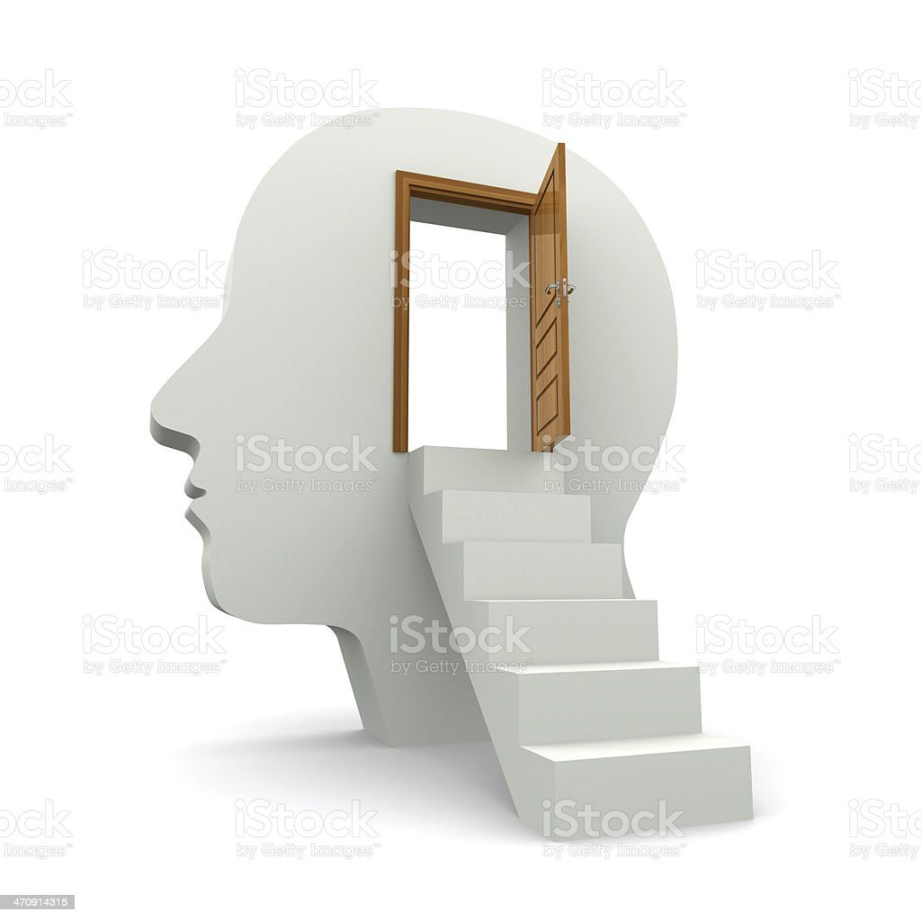 inside your head stock photo