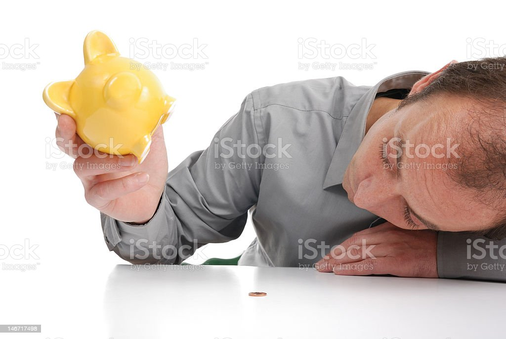 insolvent stock photo