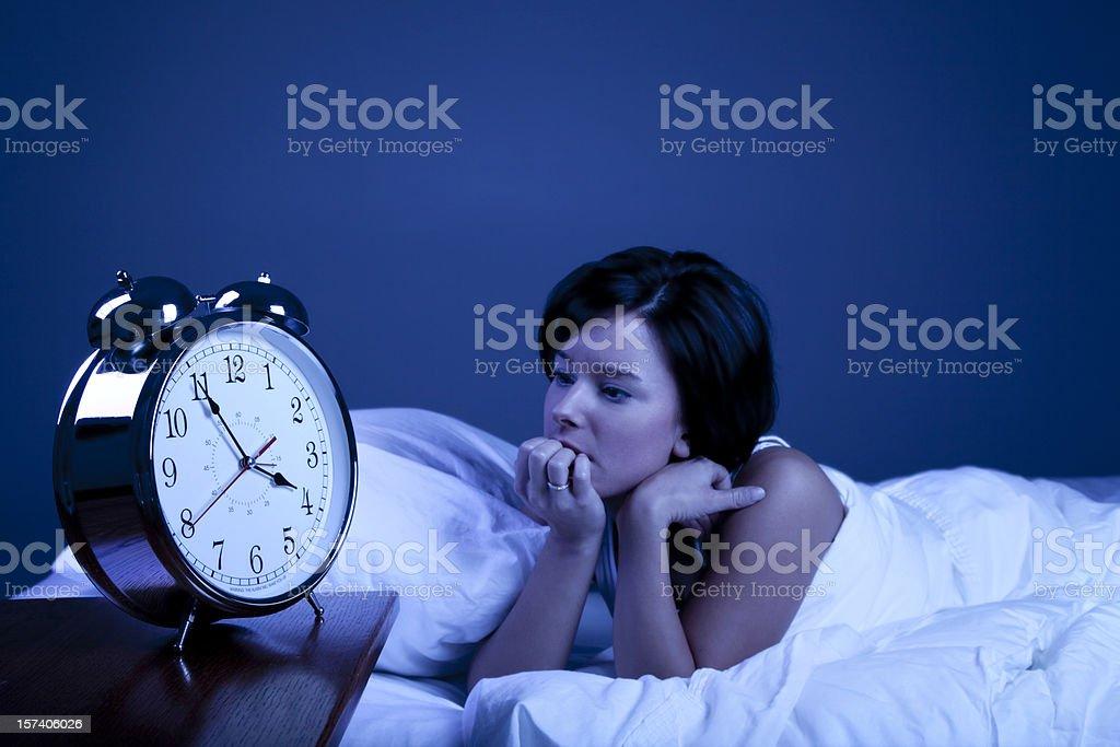 Insomnia royalty-free stock photo