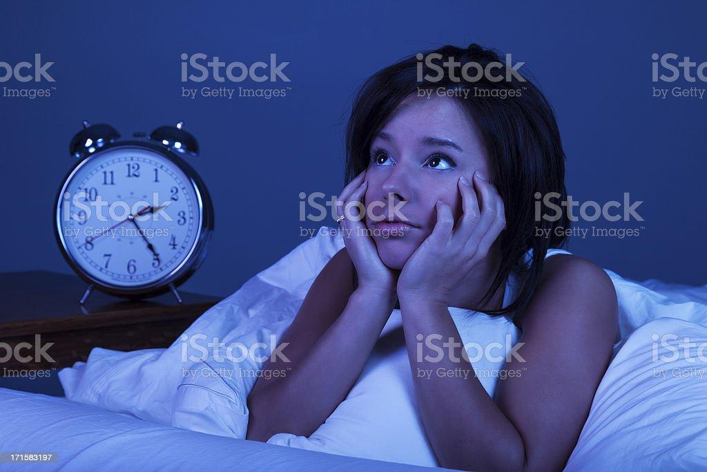 Insomnia stock photo